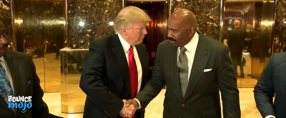 Steve Harvey & Donald Trump