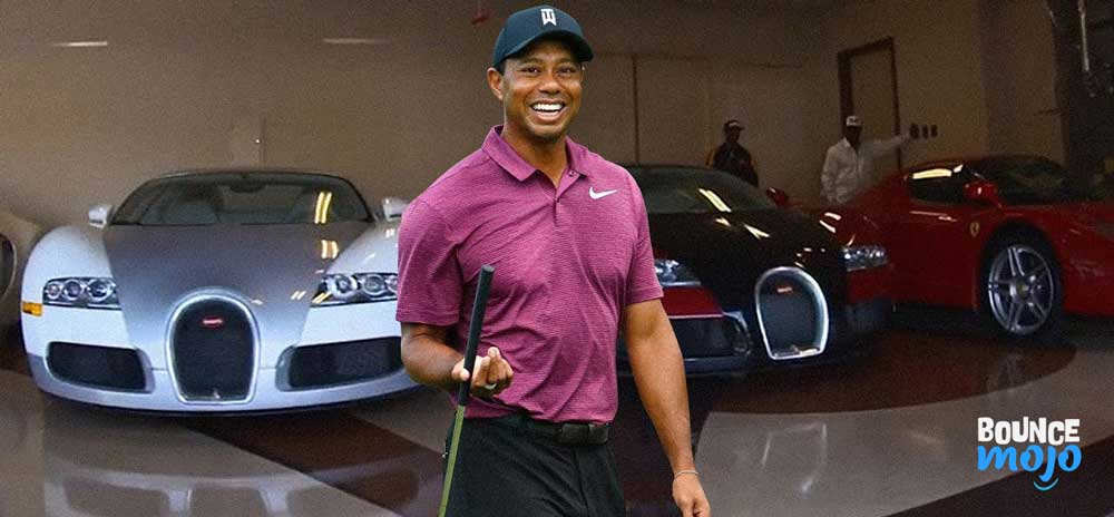 Tiger Woods Cars