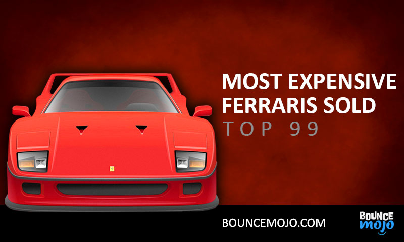 100 Most Expensive Ferraris Sold