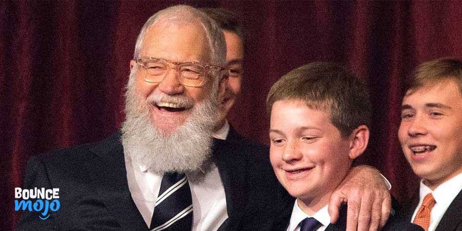 David Letterman Family