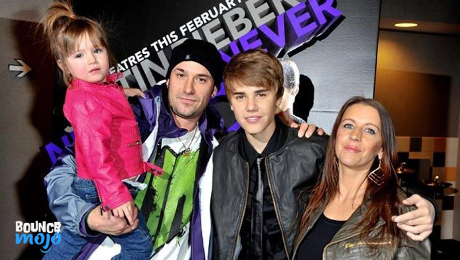 Justin Bieber Mom and Dad