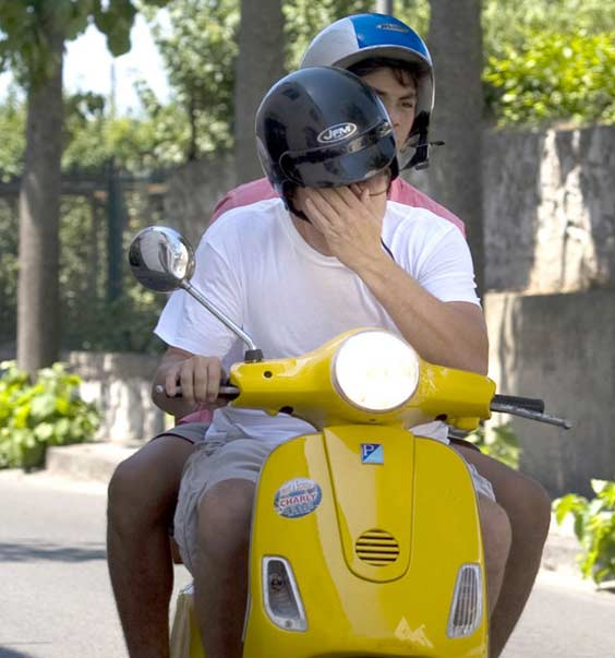 Leonardo DiCaprio Motorbikes