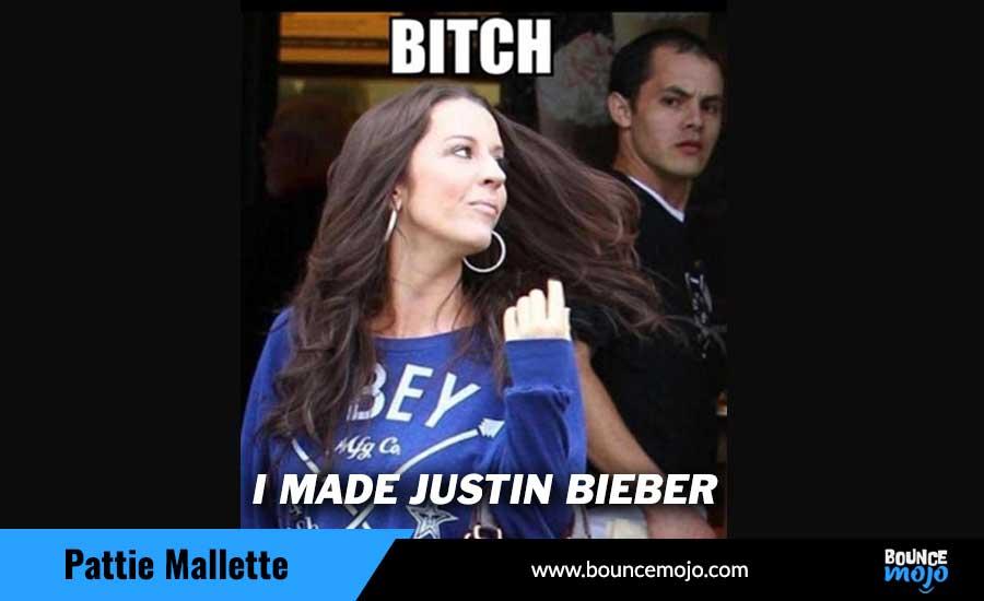 Justin Bieber's mom (Pattie Malette)  Memes