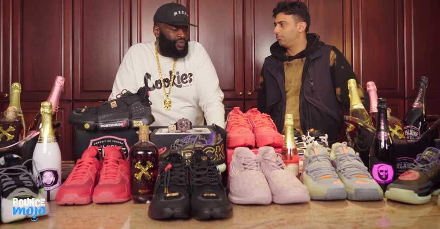 Rick Ross's trainers