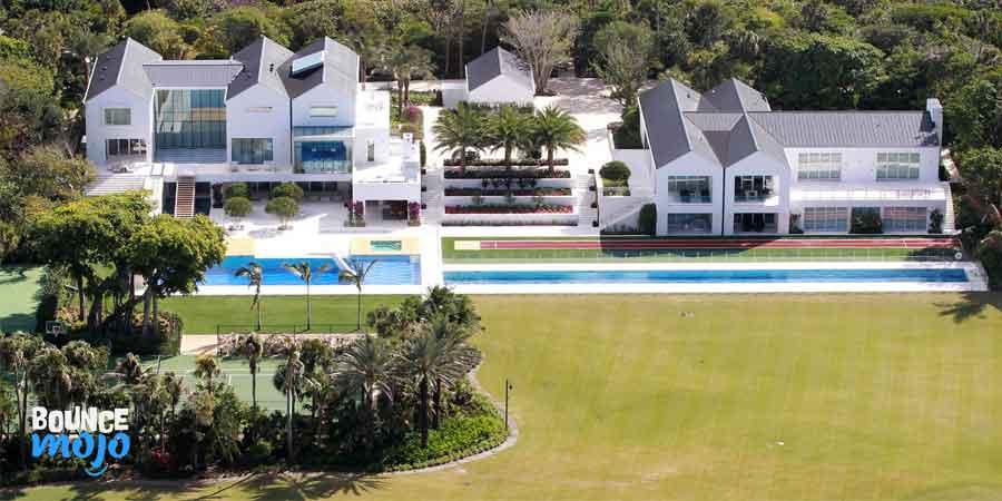 Tiger Woods Jupiter Island Estate