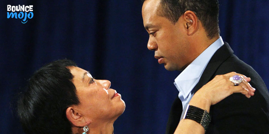 Tiger Woods & His Mom