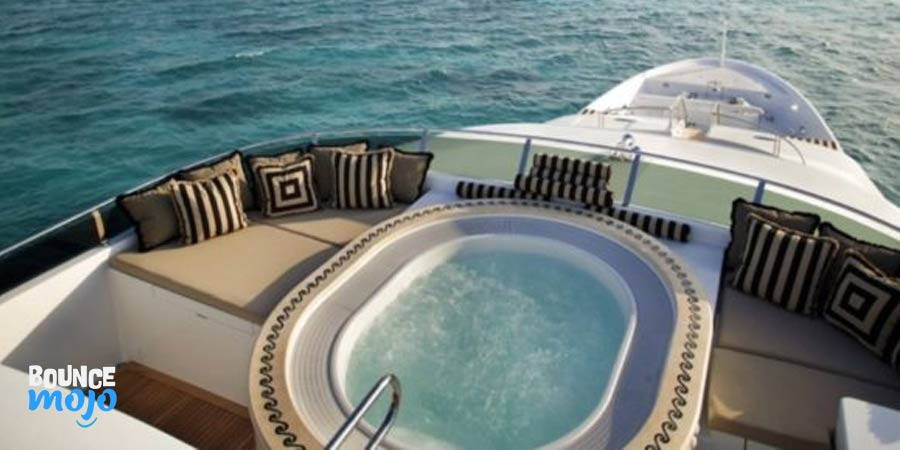 Tiger Woods Yacht Pool