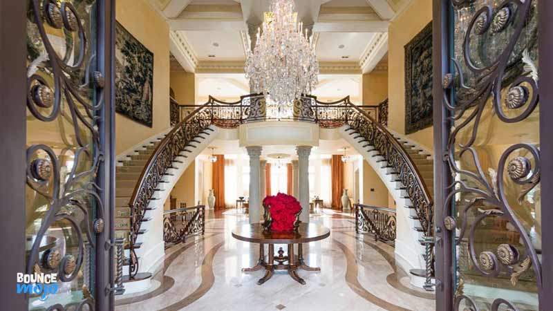 Tyler Perry House Stairs