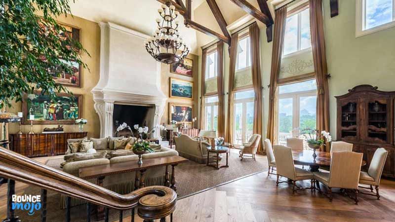 Tyler Perry House Drawing Room