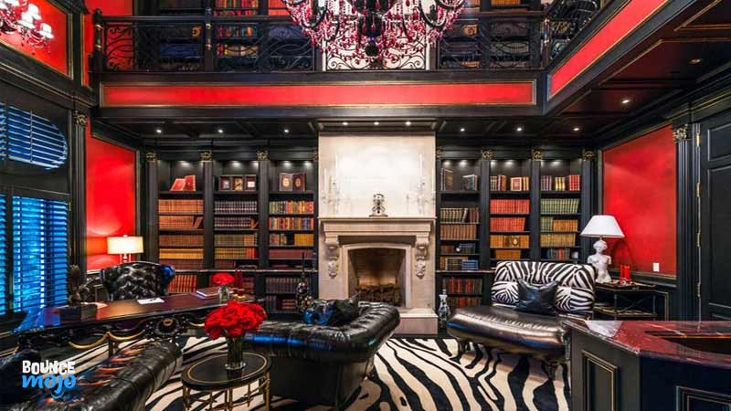 Tyler Perry House Library