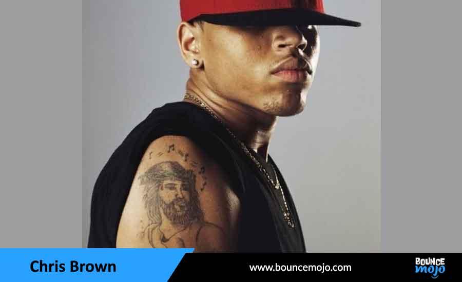 Chris Brown's Jesus Tattoo