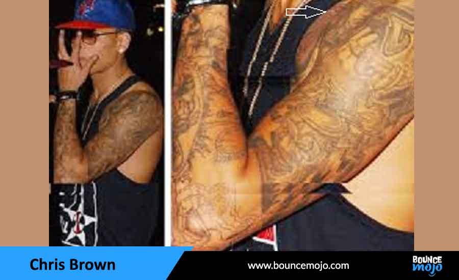 Chris Brown Warrior Tattoo
