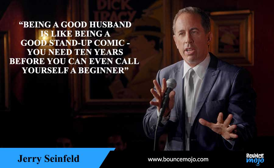 Jerry Seinfeld Quotes