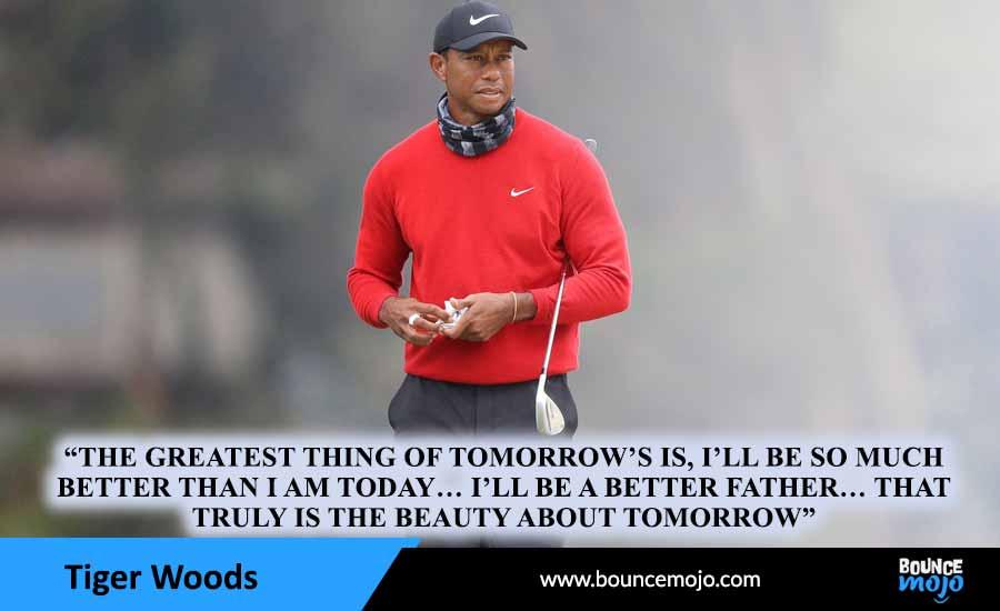 Tiger Woods Parenthood Quotes