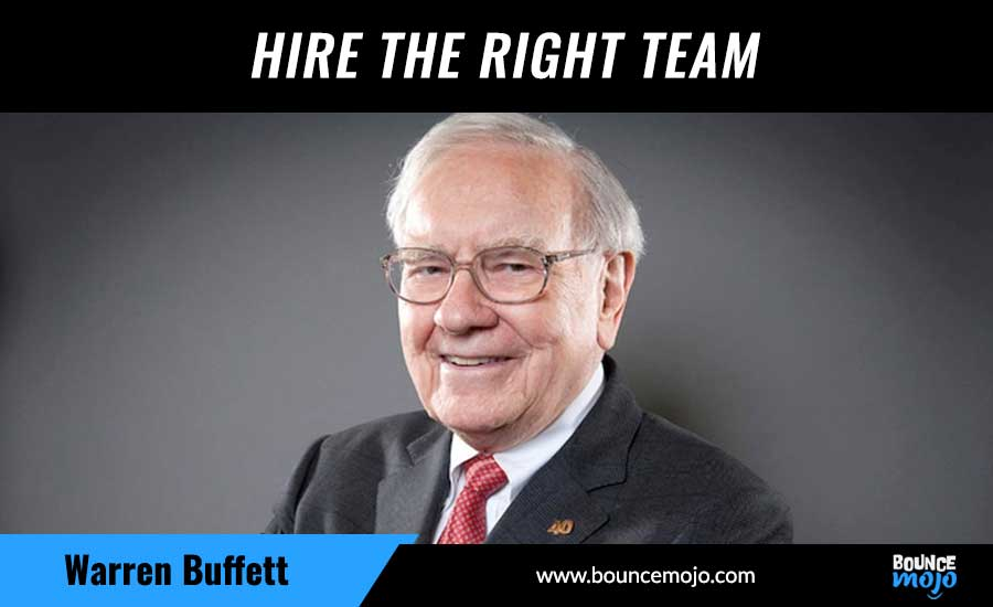 Hire The Right Team
