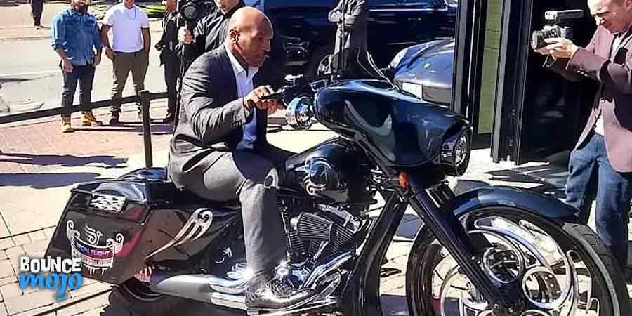 Mike Tyson Motorbikes