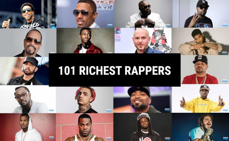 101 Richest Rappers In The World [Updated] 2021