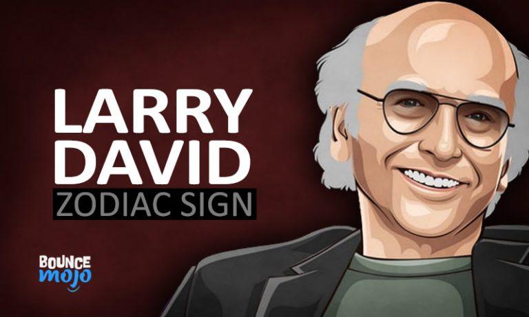 Larry David Astrology Birth Chart Horoscope [Visual Guide] 2021