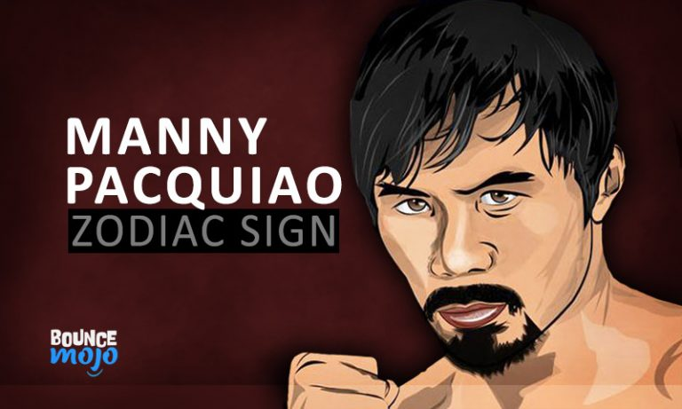 Manny Pacquiao Astrology Birth Chart, Horoscope[Visual Guide]