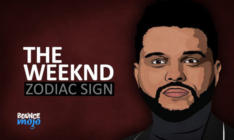 The Weeknd Astrology Birth Chart Horoscope[Visual Guide]