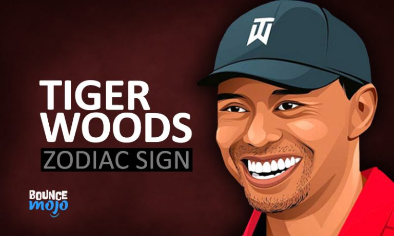 Tiger Woods Astrology Birth Chart Horoscope[Visual Guide]