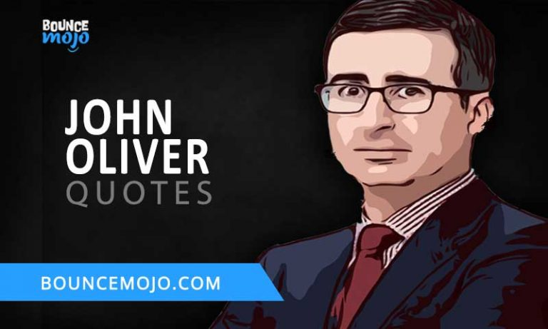 10+ Best John Oliver Quotes (2021) Life & Success [Updated]