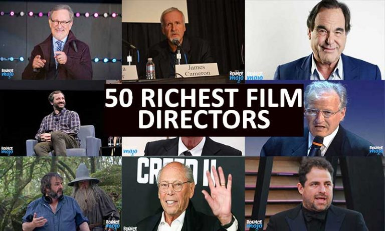 50+ Top Richest Film Directors [Of All Time] [Updated 2021]