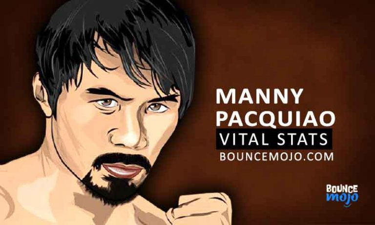Manny Pacquiao Height, Weight & Vital Stats (2021)