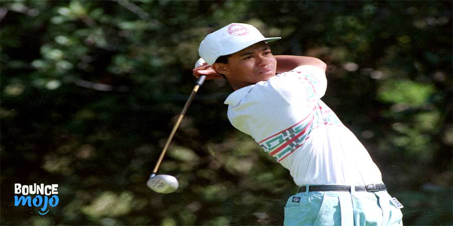 What is Tiger Woods' weight?